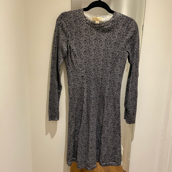 Michael Michael kors knit houndstooth dress